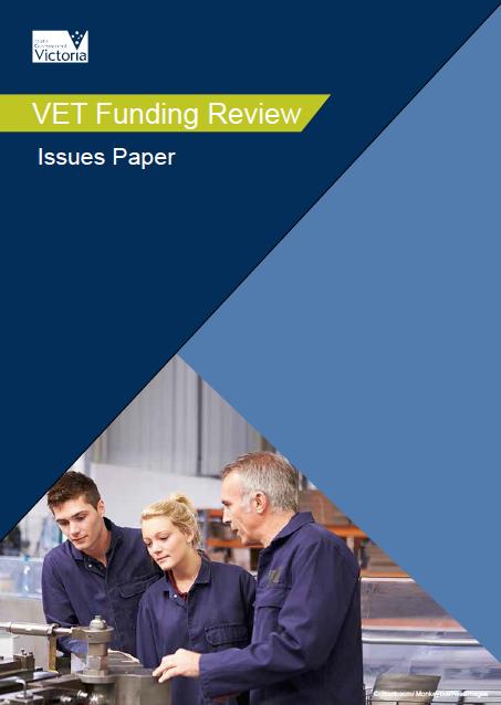 VET funding review