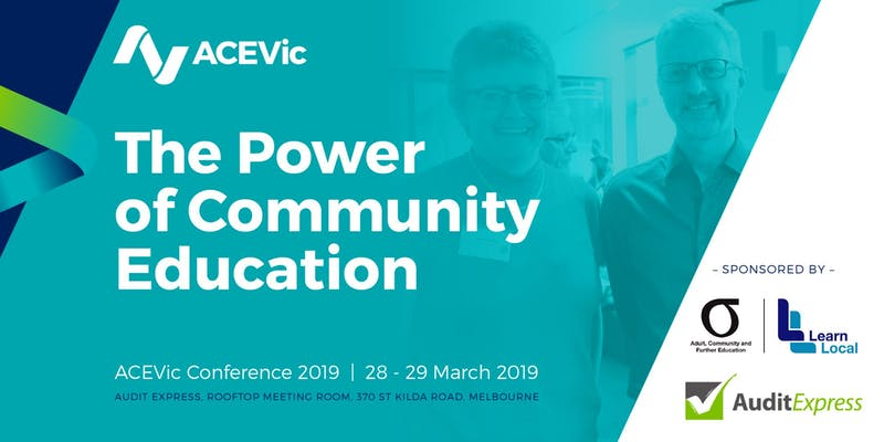 Audit Express proud to sponsor 2019 ACEVic Conference