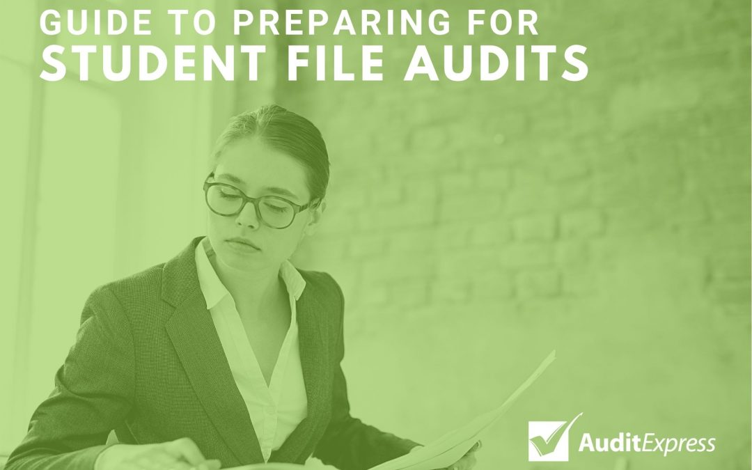 Guide to preparing student files for a Skills First Internal Audit